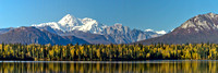 Mount McKinley from Byer's Lake