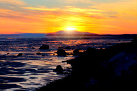 Mount Susitna Sunset